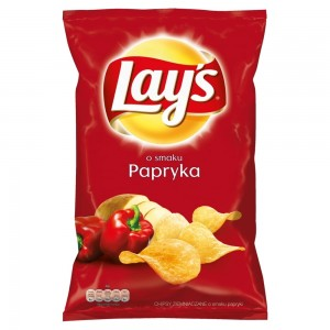 CHIPSY LAYS PAPRYKA 140G